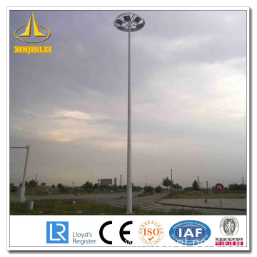China for Steel Lighting Pole High Mast Powder Coating Steel High Mast Poles supply to Romania Supplier